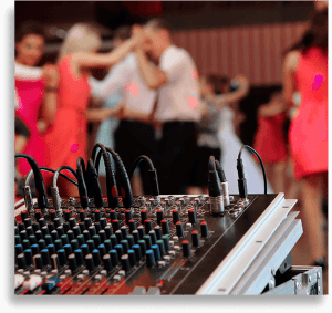 dj-mixer-used-in-party